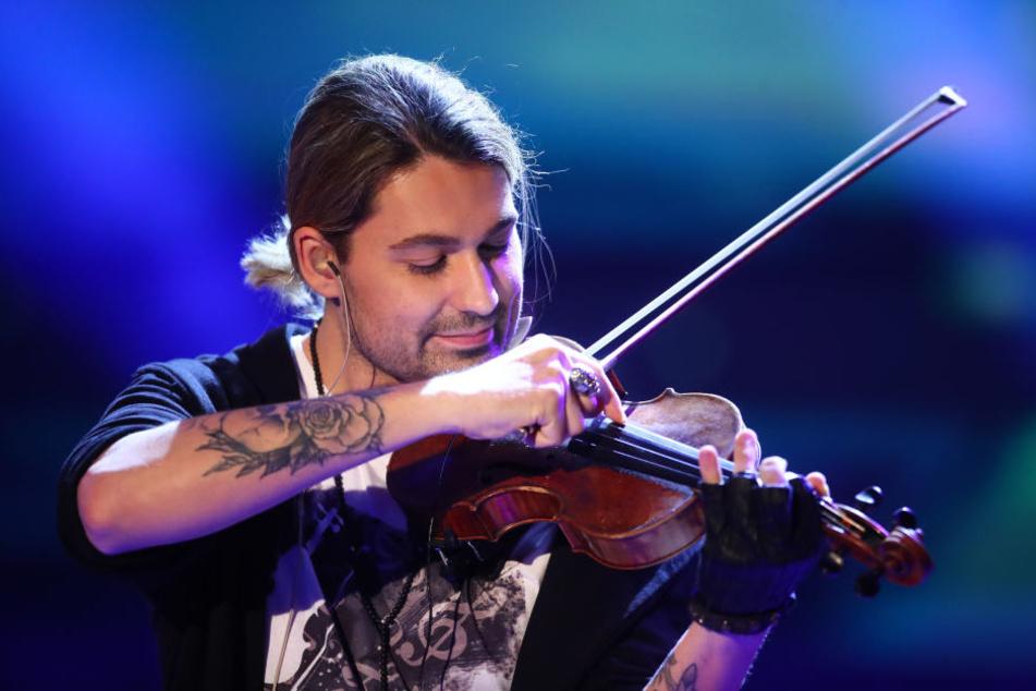 David Garrett (38) ist einer der großen Stars an der Geige.