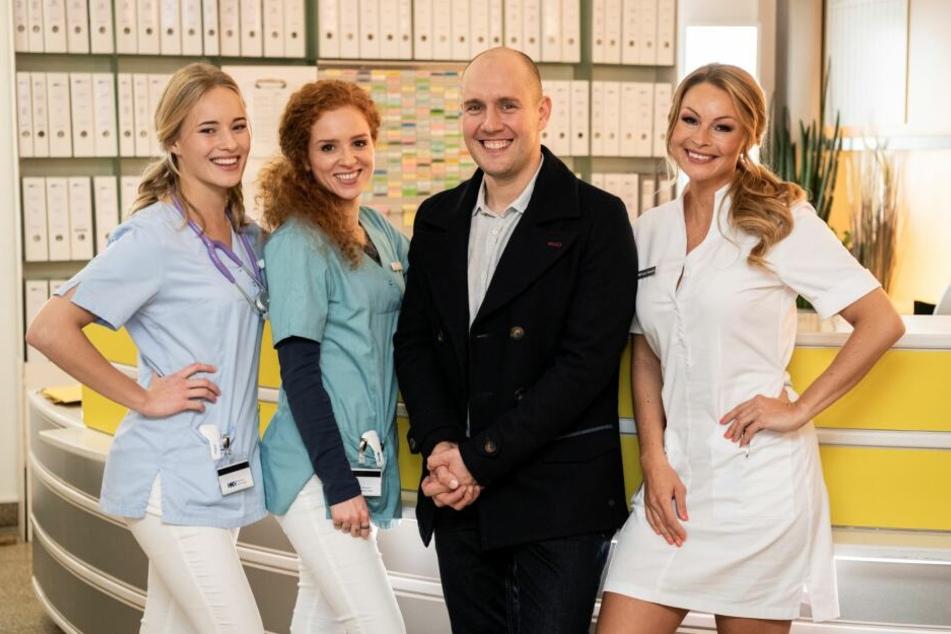 """Oli P. (41) steigt bei den RTL-""""Nachtschwestern"""" ein."""
