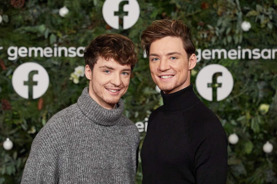Die Lochis, Musik- und Comedyduo, kommen zum weltweit ersten Facebook-Weihnachtskonzert in die Laeiszhalle.