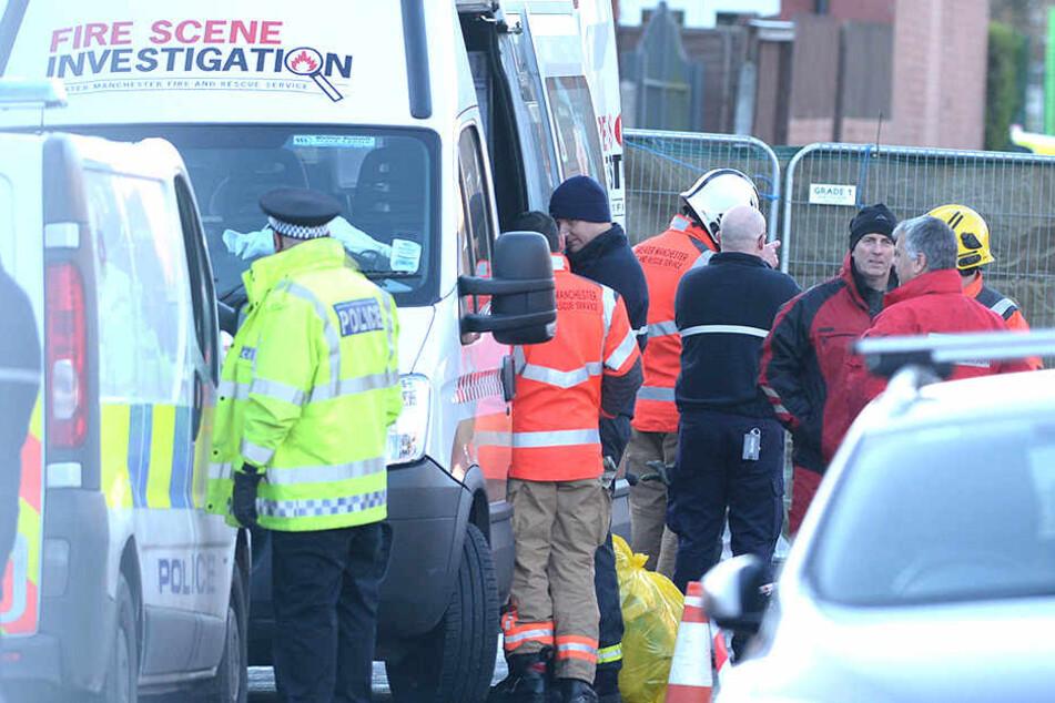Bei einem Wohnungsbrand in Manchester starben vier Kinder.