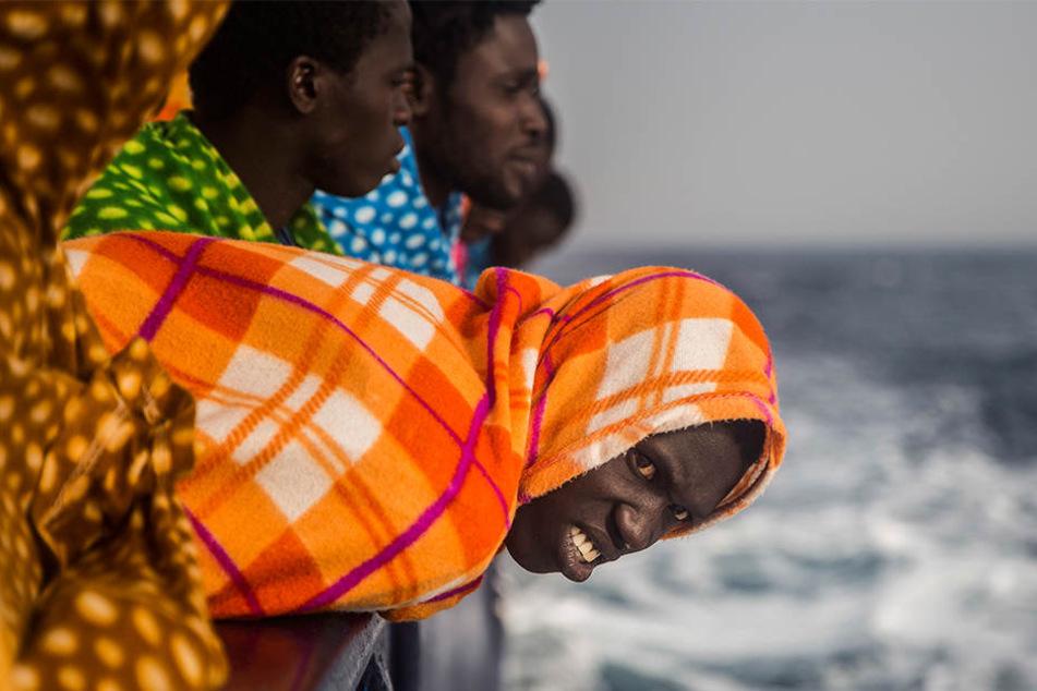 Die mauretanische Marine hat nach eigenen Angaben ein Boot mit 125 Senegalesen abgefangen. (Symbolbild)