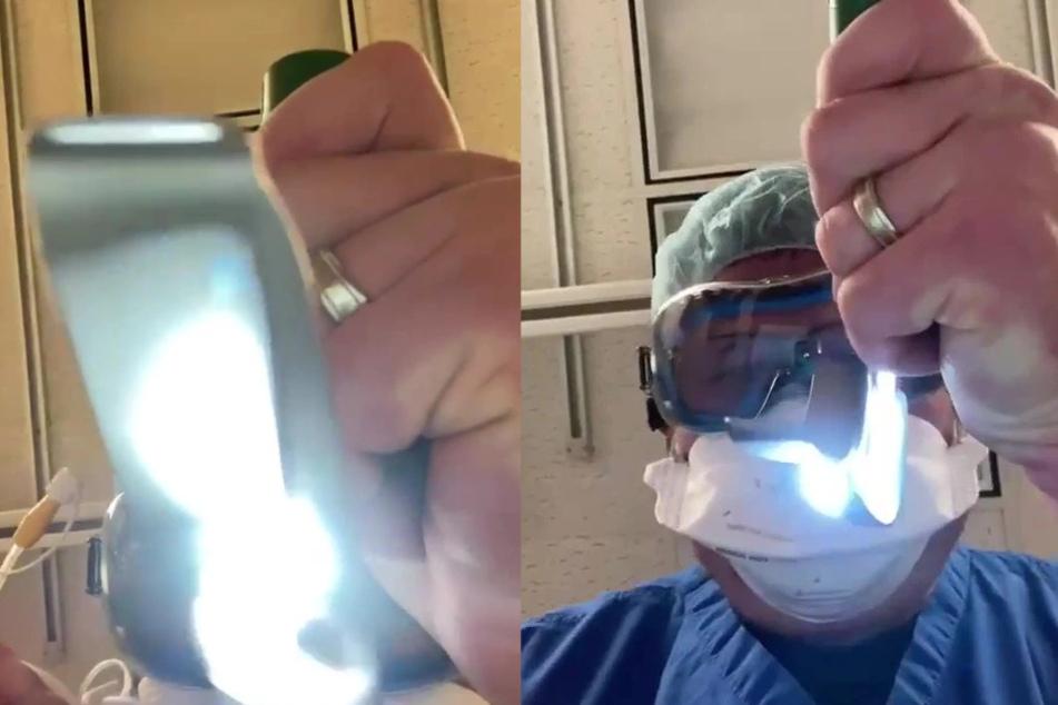 """Arzt zeigt Arbeit auf Intensivstation: """"Das werdet ihr am Ende eures Lebens sehen"""""""