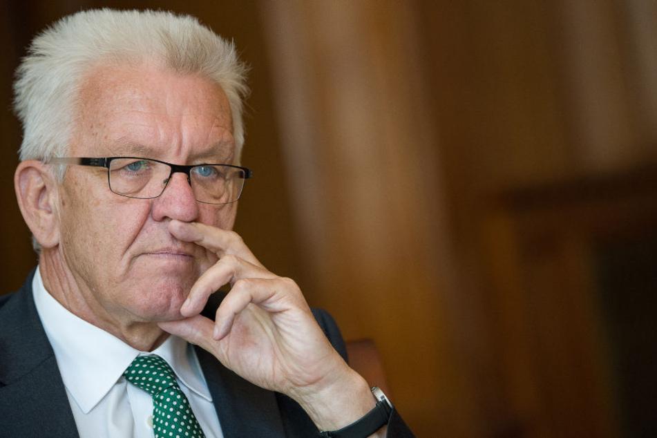 Steht seit seiner Äußerung in der Kritik: Winfried Kretschmann.