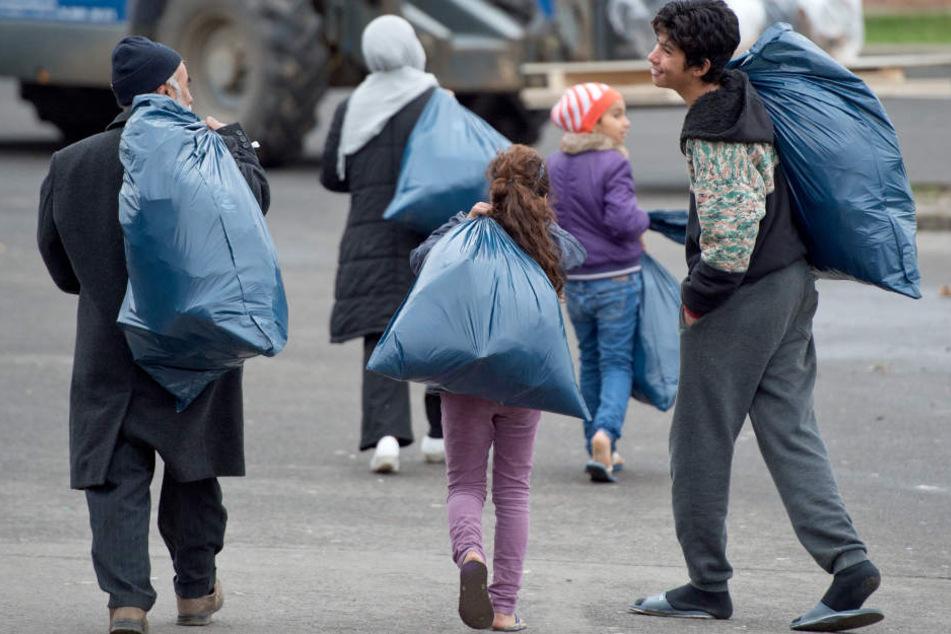 Nicht alle Flüchtlinge finden eine Wohnung, nachdem sie den vollen Aufenthaltsstatus bekommen haben.