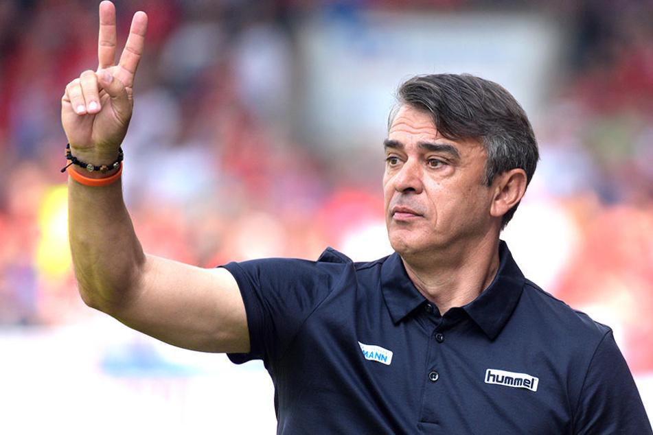 Auf Damir Buric müssen die Fürther im DFB-Pokal-Spiel gegen Borussia Dortmund verzichten.