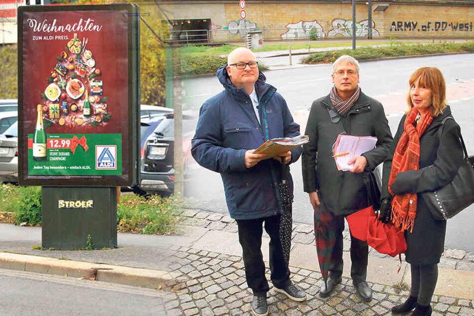 Dresdens irrster Werbestreit tobt seit sechs Jahren