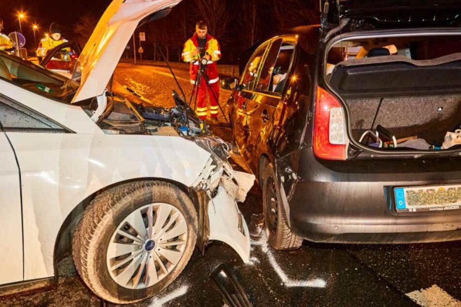 Der Verkehrsunfalldienst nahm den Unfall auf.