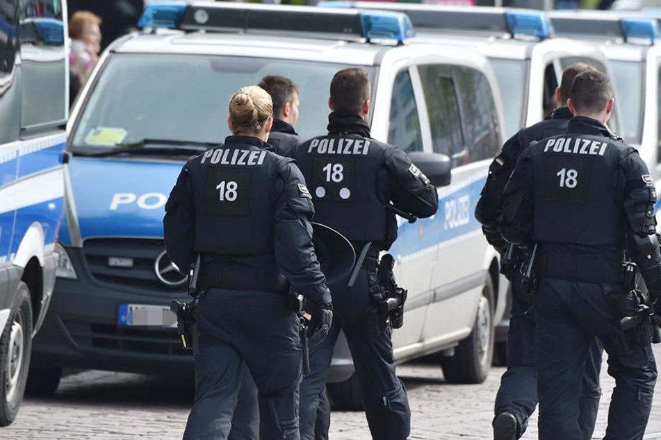 Mit einer unbedachten Aussage hat sich die Leipziger Polizei unbeliebt gemacht. (Symbolbild)