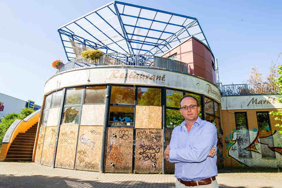 Chemnitzer Pizzeria verkommt immer mehr zum Schandfleck