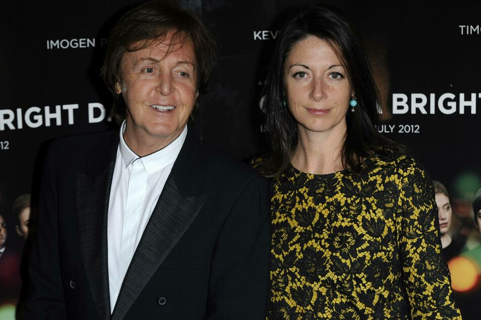Mary Mccartney (r.) has fond childhood memories of her time at Abbey Road Studios with her father Paul (archive image).
