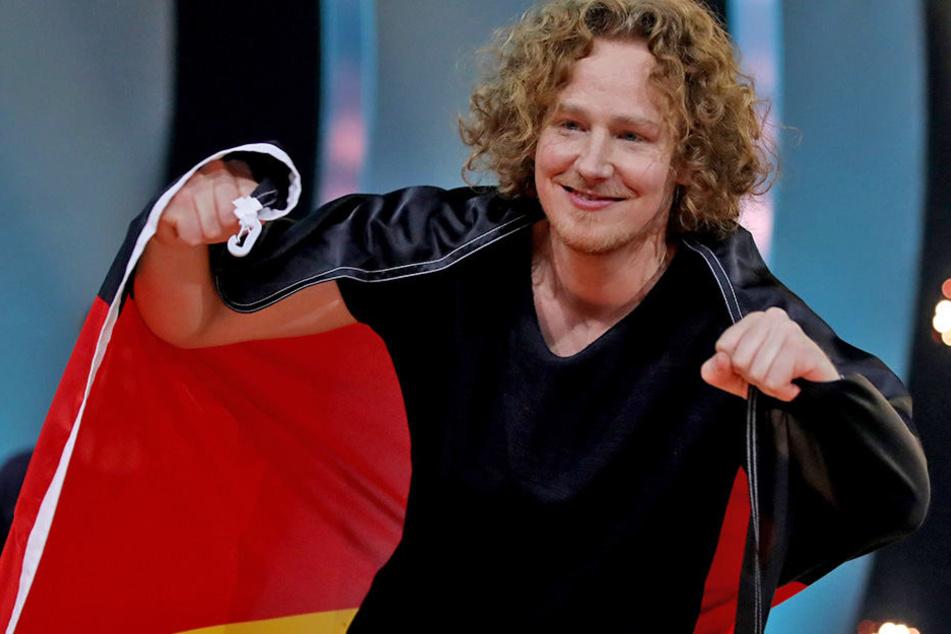 Michael Schulte wird Deutschland 2018 beim Eurovision Song Contest in Lissabon vertreten.