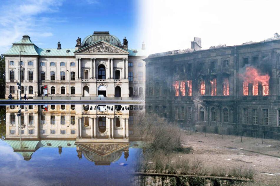 Im Bombenhagel 1945 versanken Hunderte Gebäude in Schutt und Asche: Das wurde aus ihnen!
