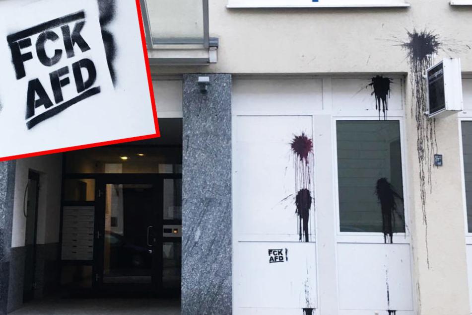 Nächster Vorfall, diesmal Leipzig! AfD-Büro attackiert