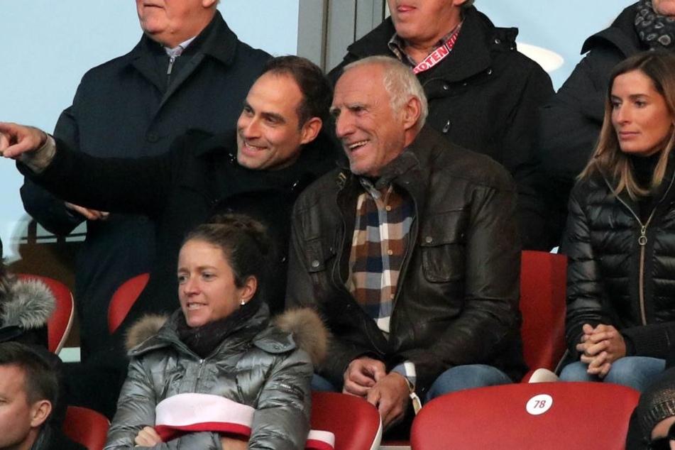 Mintzlaff mit RB-Besitzer Dietrich Matschitz (re.).