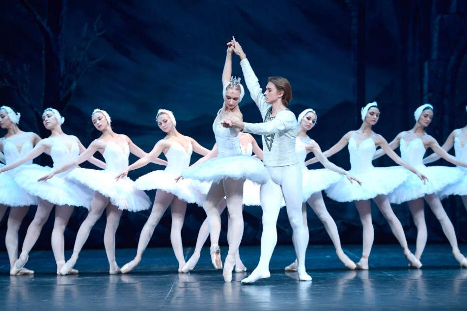 Schwannesee wird am 21.August 2018 vom Sankt Petersburg Mariinski-Ballett in London aufgeführt (Symbolfoto).