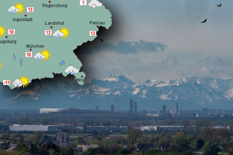 Wolken und Schauer: So wird das Wetter am Wochenende