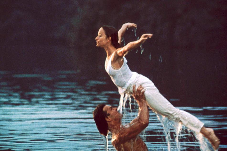 Für die Übungsszene im Kalten Wasser baute die Filmcrew extra eine Plattform im See auf.