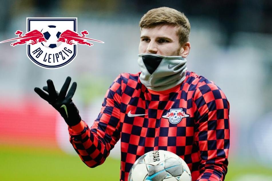 Trainingsabbruch! RB Leipzig bangt um Torjäger Timo Werner