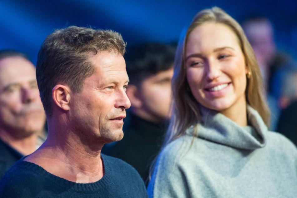 Til Schweiger, Schauspieler, zeigte seine neue Freundin der Öffentlichkeit.