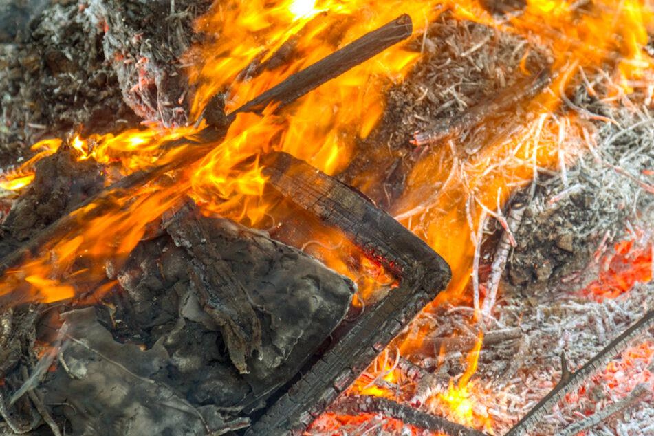 Christbaum fängt Feuer und zerstört ganze Wohnung: Fünf Personen verletzt
