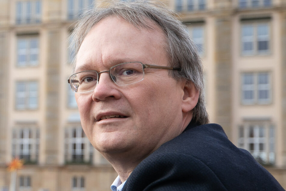Stadtrat Tilo Wirtz (53, Linke).