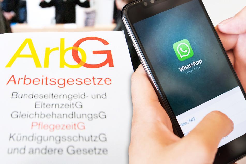 Typ macht Scherz über Corona-Regeln auf WhatsApp und wird gekündigt