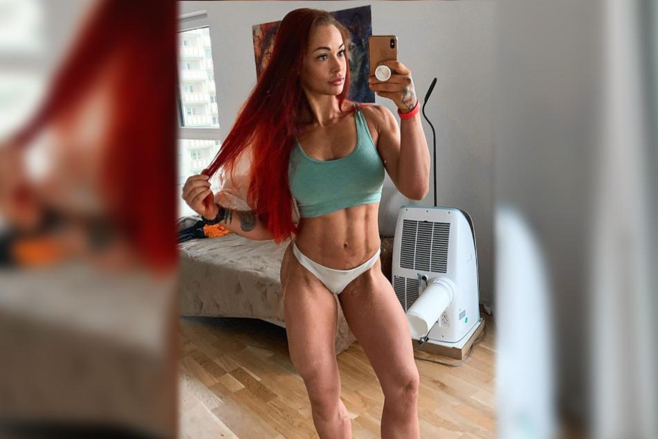Fitness-Influencerin LeaLovesLifting ist eine sportliche und attraktive junge Frau.