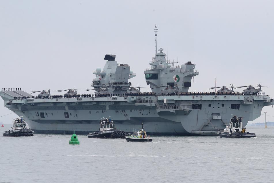 Ein britisches Kriegsschiff soll unerlaubt in russische Hoheitsgewässer gefahren sein.