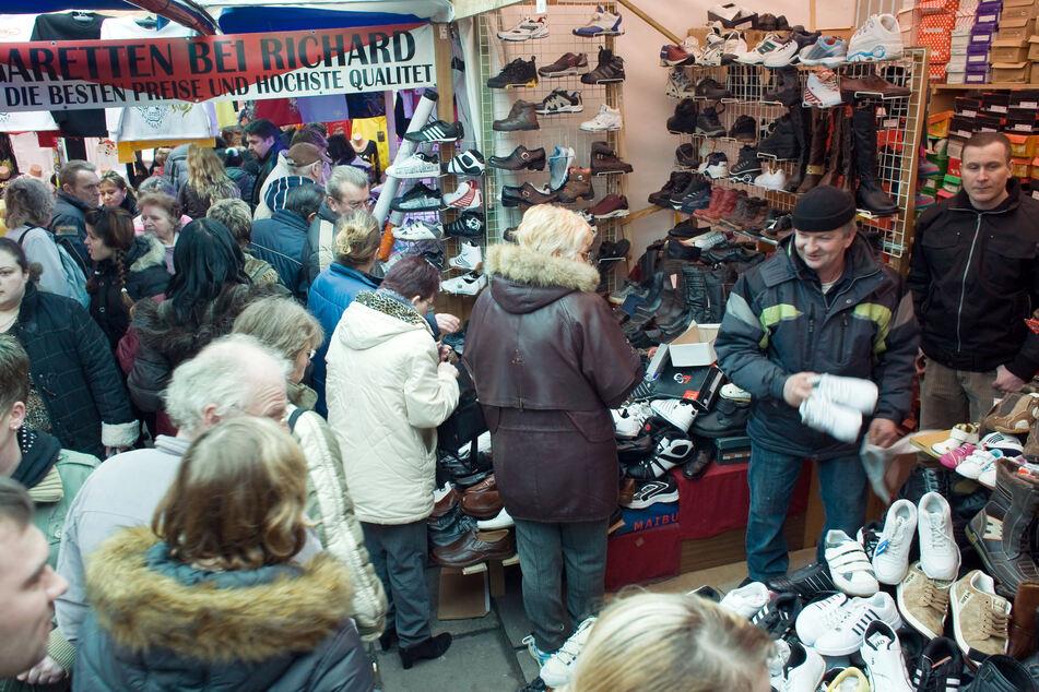 Der Polen-Markt in Slubice bleibt vorerst dicht. (Archivbild)