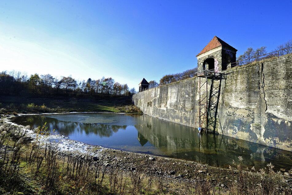 Die Talsperre Euba wird vorerst nicht als Naturbad wiederbelebt.