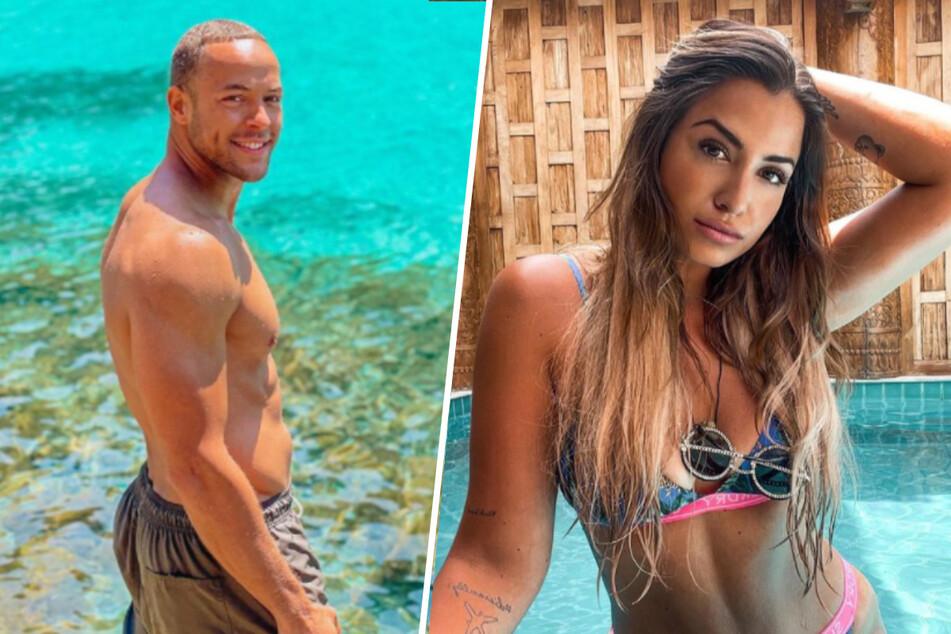 """Andrej Mangold (34) und Jenefer Riili (30) nahmen gemeinsam an der zweiten Staffel von """"Kampf der Realitystars"""" teil."""