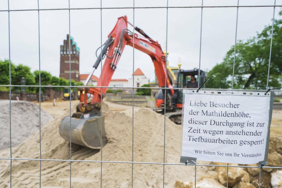 Die Bauarbeiten werden zur Entscheidung des Welterbekomitees nicht beendet sein.