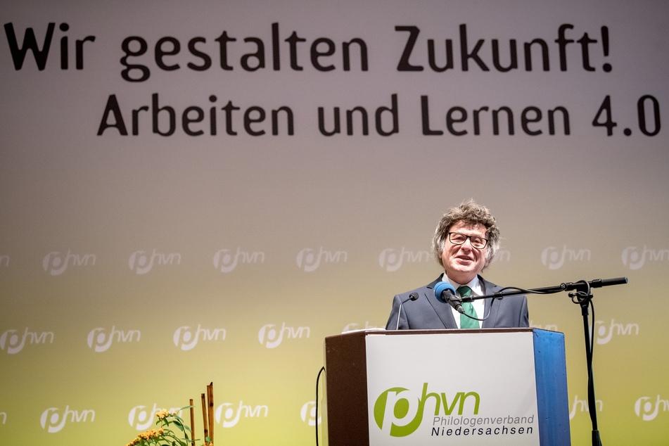 Horst Audritz ist der Vorsitzende des Philologenverbandes Niedersachsen.