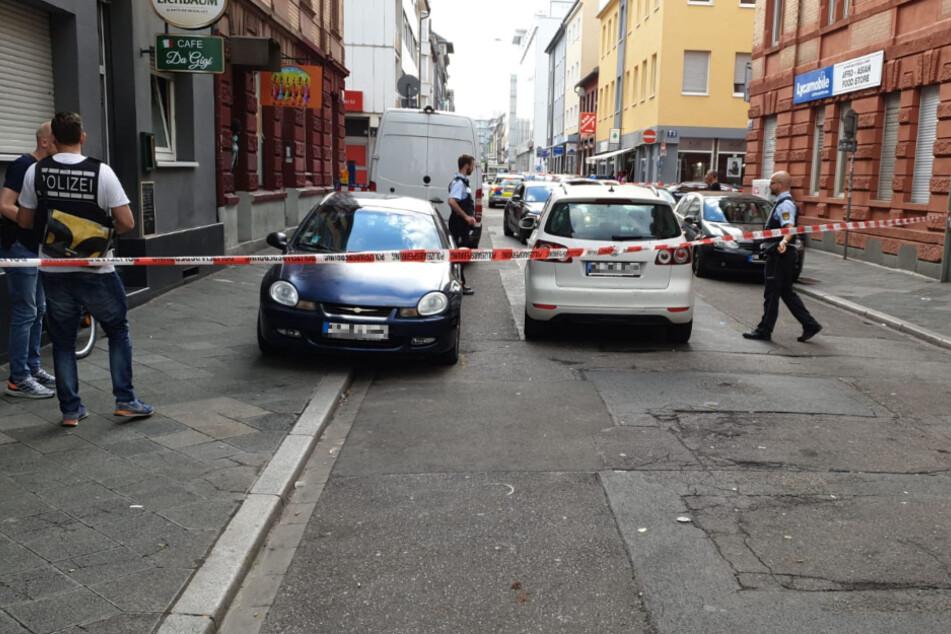 Schuss in Mannheim: ein Verletzter