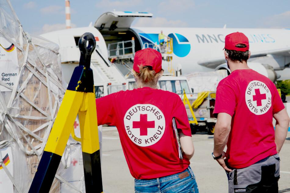 Flieger gelandet! DRK sendet 43 Tonnen Hilfsgüter nach Beirut