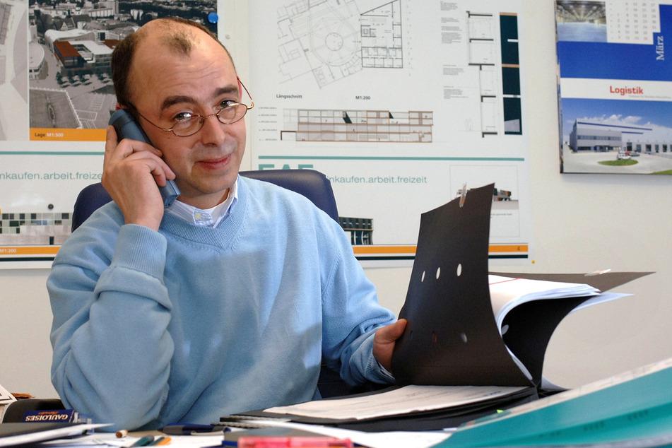 Investor Jörg Mierbach (55) hat großes Interesse an der Wanderer-Fabrik.