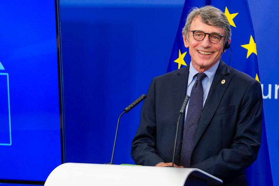 David Sassoli (64), Präsident des Europäischen Parlaments.