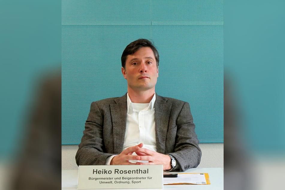 Überblick verloren? Leipzigs Ordnungsbürgermeister Heiko Rosenthal (46, Linke) untersteht die Veranstaltungsbehörde.