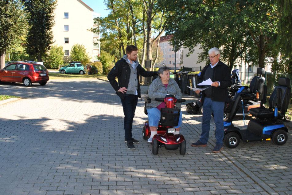 Zwickau baut Mobi-Station: Hier gibts bald E-Bikes, Rollstühle und Co. zum Ausleihen