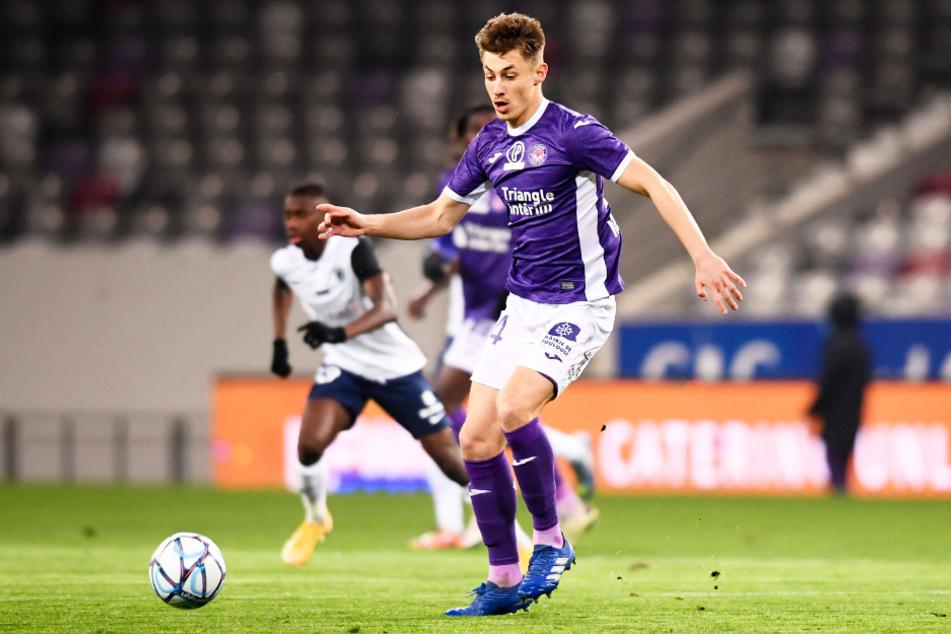 Anthony Rouault (19) spielt derzeit für den französischen Zweitligisten FC Toulouse.