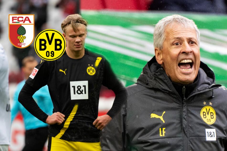 BVB-Pleite in Augsburg zu schlechtem Zeitpunkt: Top-Duell mit dem FC Bayern steht an!