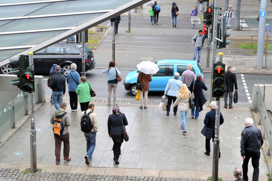 In Chemnitz sind aktuell 7,8 Prozent ohne Job. Ende letzten Jahres waren es nur 6,3 Prozent.