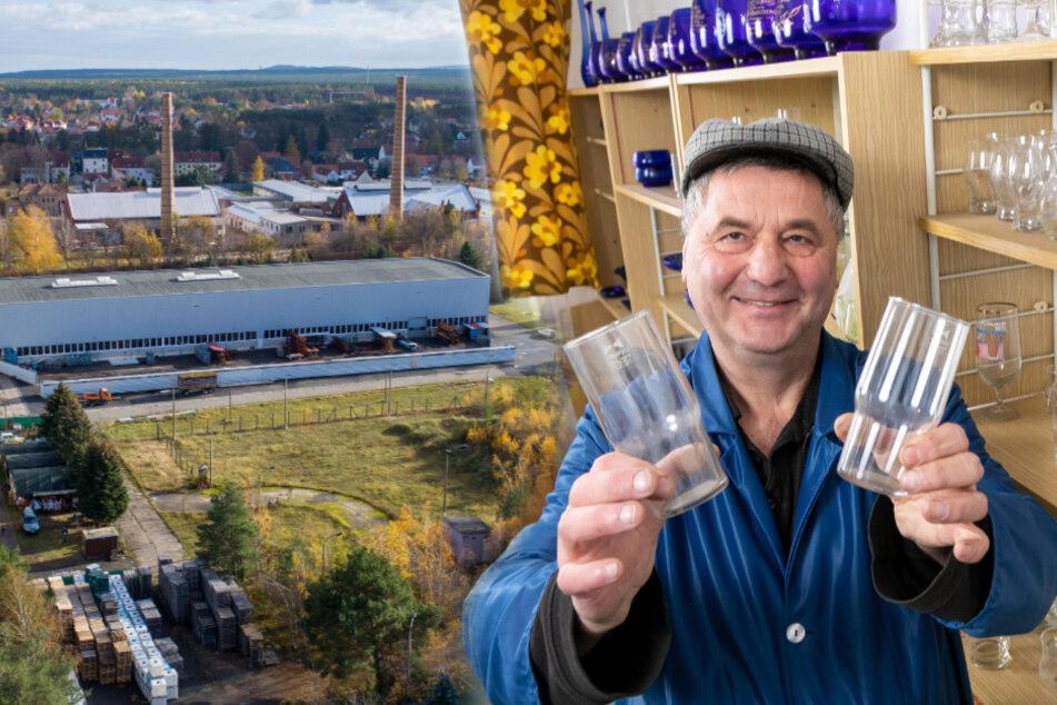 Bis zu 25 Euro das Stück: Superfest-Gläser aus Schwepnitz sind noch heute der Renner