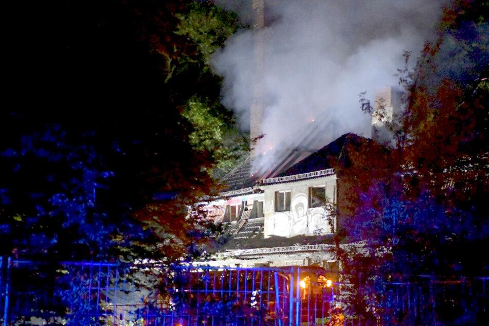 Wieder Feuer im alten Kinderkrankenhaus Weißensee!