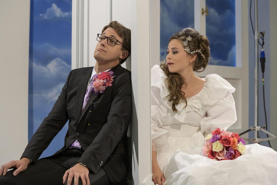 Premiere in Chemnitz: Braut sperrt ihren Mann aus und alle haben ihren Spaß