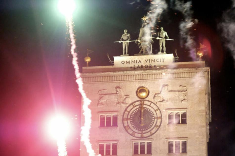 Ist dieses Jahr leider nicht drin: Ein großes Feuerwerk in der Innenstadt zu Mitternacht.