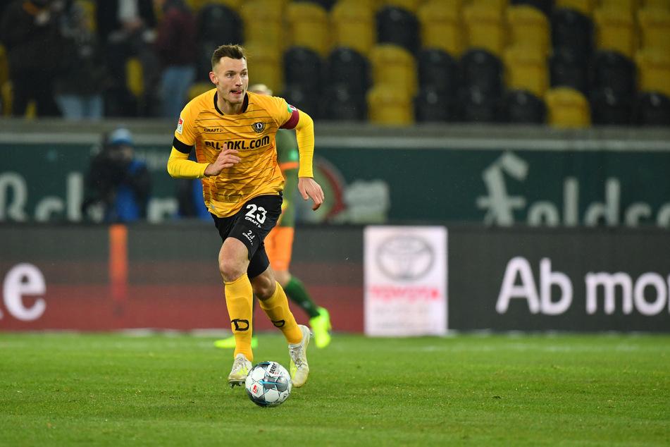 Florian Ballas, der Abwehrchef und Kapitän der Dynamos. Er muss mit seinen Mannen das Derby gewinnen.