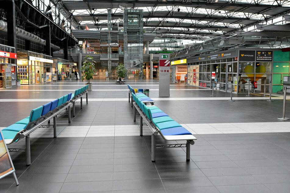 Auf dem Flughafen in Dresden ist seit Anfang März kaum noch Betrieb.