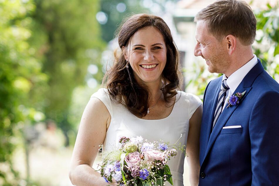 Was für eine Überraschung: Michael Kretschmer hat seine Annett geheiratet!