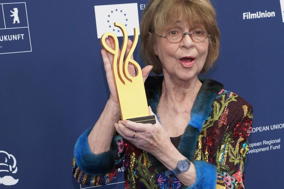 """Schauspielerin Cornelia Froboess (77) erhält den """"Ehrenpreis Lebenswerk"""" im Rahmen der Verleihung des Deutschen Schauspielpreises 2021."""